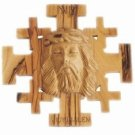 Jerusalem Crucifix With Jesus' Face