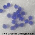 (20) Swarovski 4mm Bicone Crystal Beads~Cobalt~