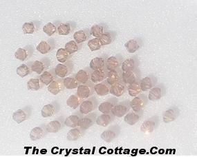 (20) Swarovski 4mm Bicone Crystal Beads~ Colorado Topaz~