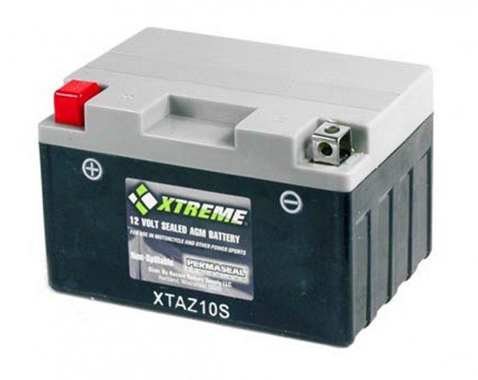 XTAZ10S Xtreme AGM Powersport Battery