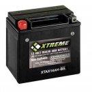 XTA14AH-BS Xtreme AGM Powersport Battery