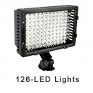 CN-126 LED Camera Video Camcorder Hot Shoe Light Lamp