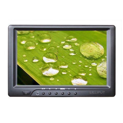 """Lilliput 669HB 7"""" On Camera field monitor w/ HDMI Composite DVI VGA + 450cd/m2"""