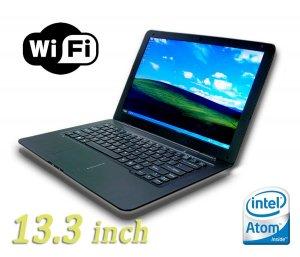 13.3' inch Notebook 1.66GHz Intel N280 Windows XP 160GB HDD 1GB Ram air netbook laptop not macbook