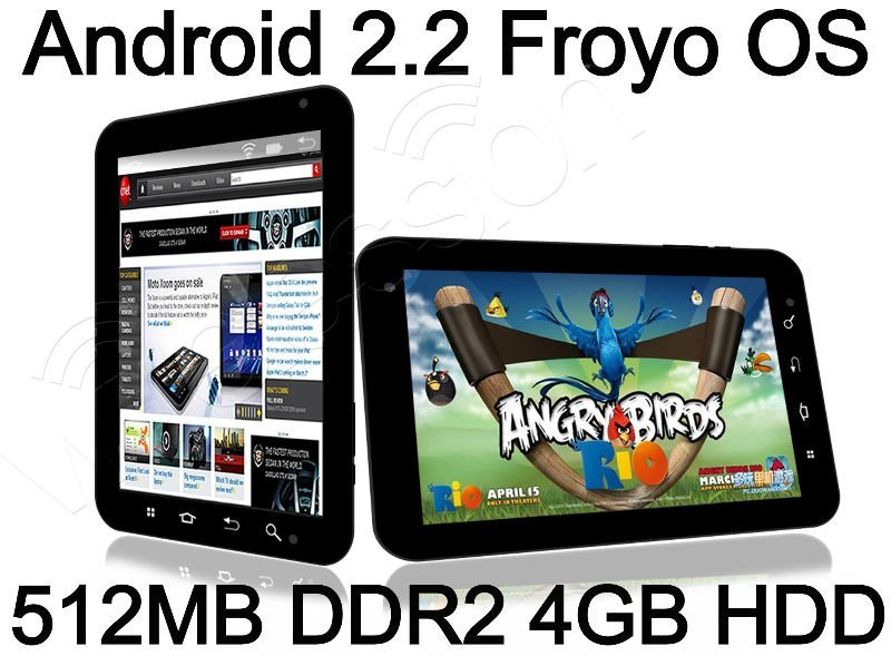 """10.2"""" Android 2.2 Froyo Tablet PC Dawa D9 Freescale Cortex A8 1GHz 512MB RAM 4GB HDD cam WIFI 3G MID"""