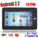 "7"" 8650 Tablet PC,Android 2.2,resistance sreen,4gb HDD, plus Camera WiFi G-sensor"