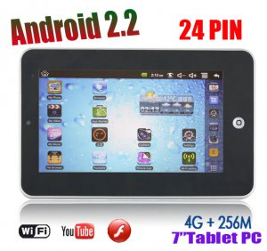"""7"""" 8650 Tablet PC,Android 2.2,resistance sreen,4gb HDD, plus Camera WiFi G-sensor"""