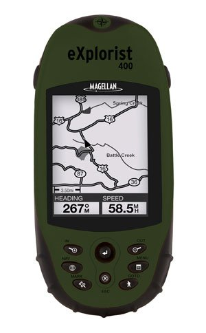 Magellan eXplorist 400 North America