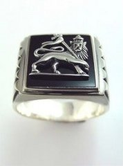 Lion of Judah Ring Silver