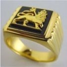 Lion of Judah Ring Gold 18 karat