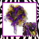 "Wreath ""Purple/Gold"""