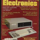 Radio Electronics July 1985 Technology Video Stereo