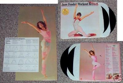 Jane Fondas Workout Record  Music Album LP 33