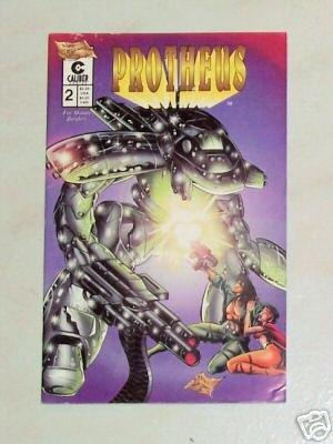 Mike Deodato's Protheus Vol. 1 No 2 1996 Caliber Comics
