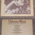 Diana Ross' Greatest Hits Music Album Record LP 33
