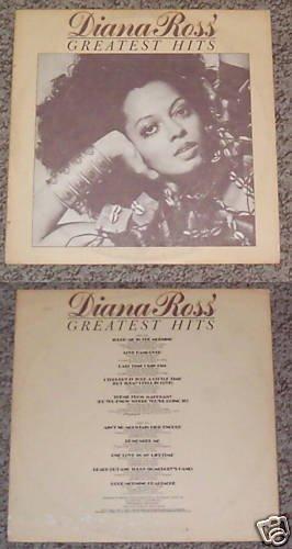 Diana Ross' Greatest Hits Music Album Record LP 33