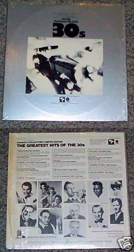 Plaza House Greatest Hits 30's Music Album Record LP 33