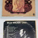 Billy Walker    Live   Album Record LP 33