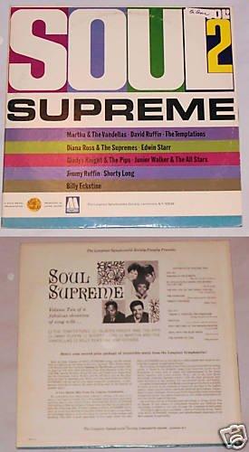 Soul Supreme Vol. 2   Album Record LP 33
