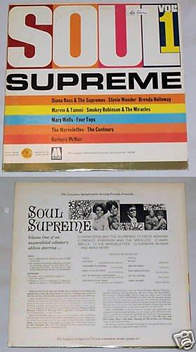 Soul Supreme Vol. 1   Album Record LP 33