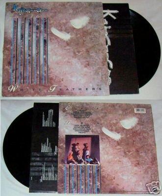 White Feathers KajaGooGoo Music Record Album LP 33