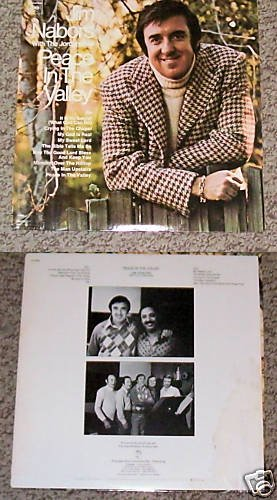 Jim Nabors Peace In The Valley Music Album Record LP 33