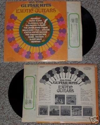 All Time Guitar Hits Record Vinyl Album LP 33