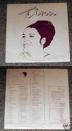 Tina Santiago  TINA Music Album Record LP 33