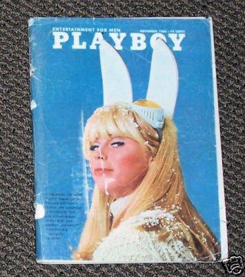 Playboy November 1966 w/ Centerfold     Joan Shepherd