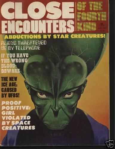 Close Encounters Of The Fourth Kind Magazine April 1978