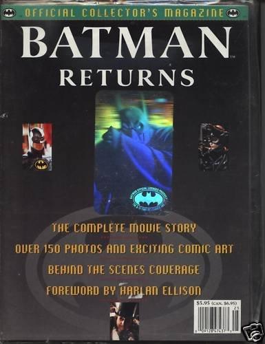 Batman Returns Magazine Official Collectors1992 150+Pic