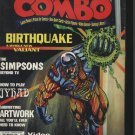 Combo Magazine April 1995 Simpsons Birthquake Artwork +