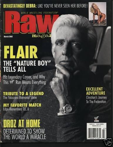 Raw Magazine March02 Devastatingly Debra Flair Nature +