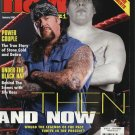Raw Magazine Jan02 Stone Cold Jim Ross Then and Now +++