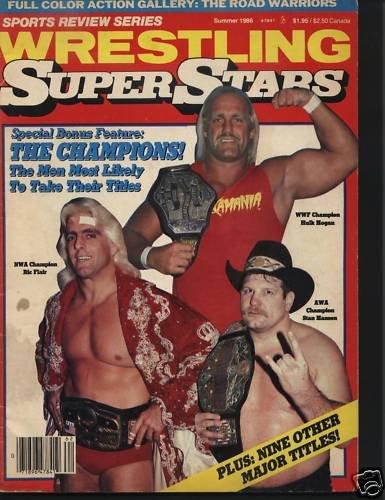 Wresling Super Stars Magazine Sum1986 Hulk Hogan & More