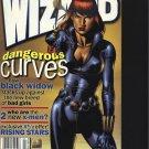 Wizard Magazine Dangerous Curves April 2000 Black Widow