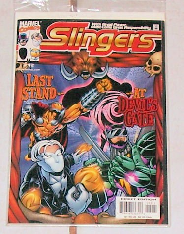 Slingers Vol.1 No12 November 1999 Last Stand Devils Gat
