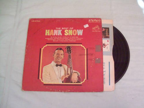 The Best of Hank Snow Music Album Record LP 33