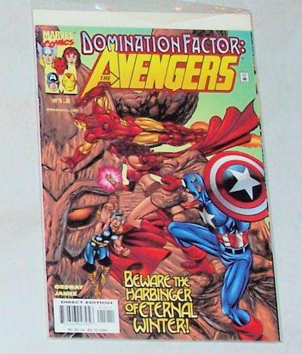 Avengers Domination Factor  #1.2 November 1999