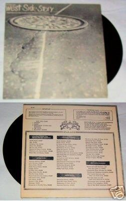 West Side Story Hits Songs   Music Album LP 33