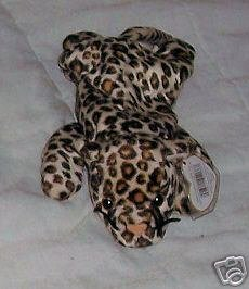 Freckles the Leopard Ty  Beanie Babies Collectible