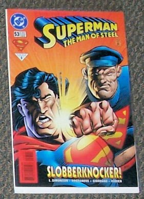 Superman   Man Of Steel   53   February 1996