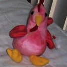 Strut the Rooster  Ty Beanie Babies Collectible