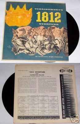 Tchaikowsky 1812 Overture Record Music Album LP 33