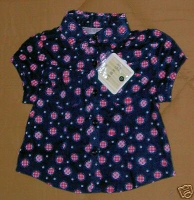 BRAND NEW GEORGE GIRLS BLOUSE 12 MOS.