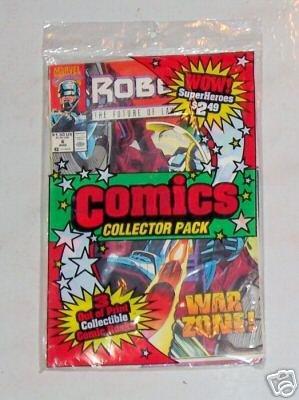 UNOPENED Collector Pack Detective/Robocop/Alien Legion