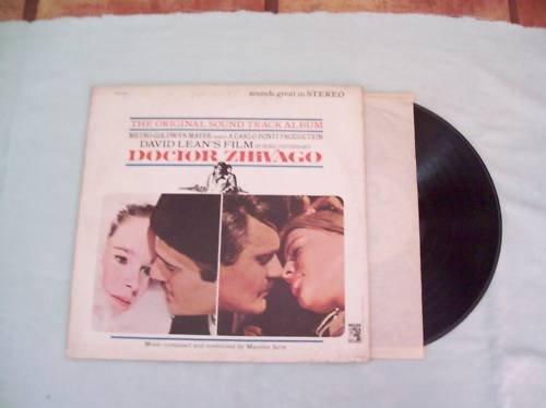 Doctor Zhivago Original Soundtrack Album Record LP 33