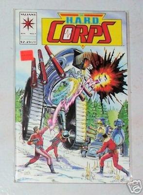 The H.A.R.D. Corps Vol.1 No.7 June 1993 Valiant Comics