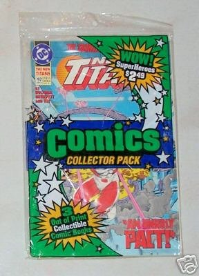 UNOPENED Collectors Pack Howard The Duck 2/New Titans97