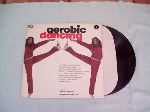 Aerobic Dancing Barbara Auer Music Record Album LP 33